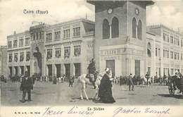 CAIRO - La Station, Gare. - Kairo