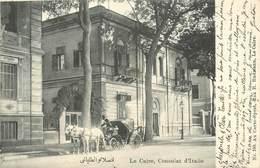 LE CAIRE - Consulat D'Italie. - Kairo