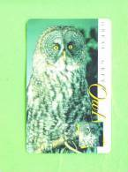 SOUTH AFRICA - Chip Phonecard/Owl - Owls