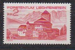 Liechtenstein 1972 Liba 1v (Vaduz Castle) From M/s ** Mnh (42252C) - Ungebraucht