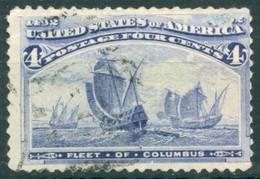Etats Unis - 1890/1893 - Yt 84 - 400 ème Anniversaire De La Découverte De L'Amérique - Oblitéré - Usados