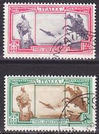 ITALIEN ITALY [1932] MiNr 0406-07 ( O/used ) - Usati