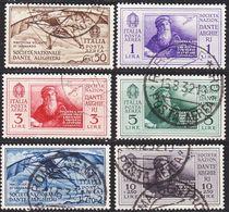 ITALIEN ITALY [1932] MiNr 0385-90 ( O/used ) - Usati