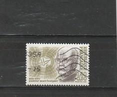France Oblitéré  1981 N° 2153  Pasteur Marc Boegner - Oblitérés