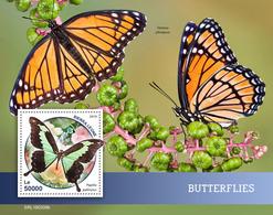Sierra Leone. 2019 Butterflies. (0208b)  OFFICIAL ISSUE - Papillons