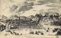 Illustrateur ORANGE Au Moyen Age RV - Orange