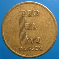 KB136-1 - E PRO HA MA - Dalfsen - B 20.0mm - Koffie Machine Penning - Coffee Machine Token - Professionals/Firms