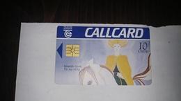 Ireland-10 Units-niamh From Tir Na Nog-(10)-used Card+1card Prepiadfree - Irlanda