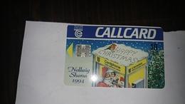 Ireland-10 Units-nollaig Shona1994-(11)-used Card+1card Prepiadfree - Irlanda