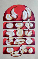 Oil Painting On Thick Paper. Contemporary Art - Oils