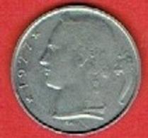 BELGIUM # 5 Francs - Baudouin I Dutch Text  FROM 1977 - 05. 5 Francs