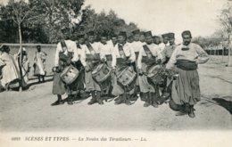 TUNISIA (?) North Africa - Scenes Et Types - La Nouba Des Tirailieurs By LL - Superb Drum Band Etc - Africa