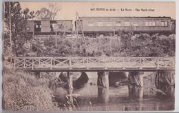 REIMS En 1919 - La Vesle - Passage D'un Train - Reims