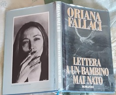 # Oriana Fallaci - LETTERA A UN BAMBINO MAI NATO - 1995 - Libri, Riviste, Fumetti