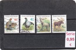 República Checa  -  Serie Completa   Fauna  - 3/1532 - República Checa