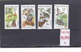 República Checa  -  Serie Completa   Fauna  - 3/1534 - República Checa