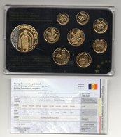 Andorra - 2014 - Serie Prova Euro - 8 Monete + Medaglia - Placcata Oro 24 Kt. - Vedi Foto - (MW2113) - Andorra