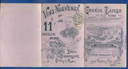 Vin Nouveaux  Grau Du Roi    Année 1901 - Alcools