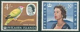 Pitcairn - 1964/1965 - Série Courante E II - Yt 49 Et 49A - * TC - Timbres