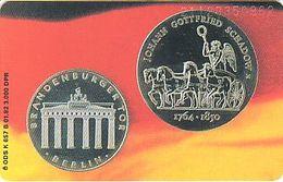GERMANY K657b/92 Rippel - Coins - Berlin - Brandenburger Tor - Deutschland
