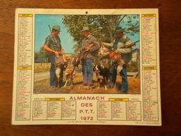 CALENDRIER / ALMANACH DES PTT 1972 - Big : 1971-80