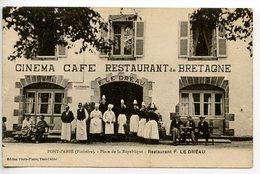 Pont-l'abbé - Restaurant Le Dreau -Cinéma - Pont L'Abbe