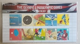 2010 UK. London 2012 Olympic And Paralympic Games. Pt. 2. Presentation Pack. MNH - Estate 2012: London