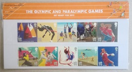 2011 UK. London 2012 Olympic And Paralympic Games. Pt. 3. Presentation Pack. MNH - Estate 2012: London