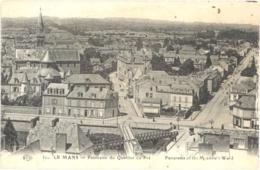 CPA - 72 - 31. LE MANS - Panorama Du Quartier Du Pré - Panorama Of The Meadow's Ward - ELD - Le Mans
