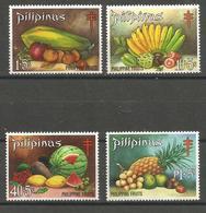 Philippines  - 1972 Fruit (TB Fund) MNH **     Sc B44-7 - Philippines