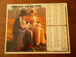 CALENDRIER / ALMANACH DES PTT 1978 - Big : 1971-80