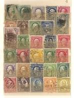 Etats-Unis - Petit Lot De 350 Timbres° DIFFERENTS + Album - Toutes époques Et Tous Formats - Stamps