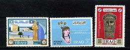 Iraq  ** - N° 457 à 459 - Nouveau Musée De Bagdad - Irak