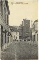 HOEYLAERT - Chaussée De Wavre Et L' Eglise - Hoeilaart