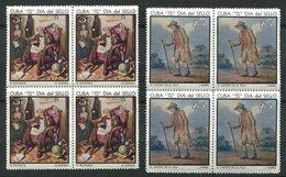 Cuba ** N° 1233/1234 - Peinture - Cuba