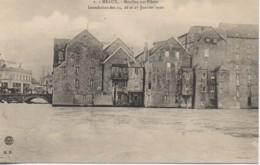 77 MEAUX Moulins Sur Pilotis  Inondation Des 25,26 Et 27 Janvier 1910 - Meaux