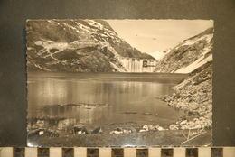 CP, 73 , TIGNES,  Le Barrage -Troupeaux Au Bord Du Lac, Non Voyagée - Otros Municipios