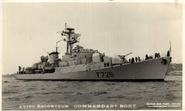 AVISO ESCORTEUR COMMANDANT BORY - Oorlog