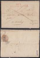 """France - Lettre 20/03/1806 """" Nº 1 Grande Armée  """" Sup Déco Intérieur  (7G37423) DC2632 - Marcofilia (sobres)"""