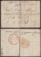 """France - Lettre 25/01/1806 """" Nº3 Grande Armée """"  Vers  Paris (7G37423) DC2640 - Marcofilia (sobres)"""