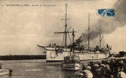 Cpa Du 44 Rochefort Sur Mer -- Arrivée Du Duguay Trouin - Warships