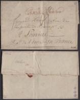 """France - Lettre Date De Kazimie 21/10/1807 """" Nº37 Grande Armée """" Vers Louviers (7G37423) DC2647 - Marcophilie (Lettres)"""