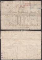 """France - Lettre Date De Francfort 22/03/1813 """" Nº 49 Grande Armée """" (7G37423) DC2655 - Postmark Collection (Covers)"""