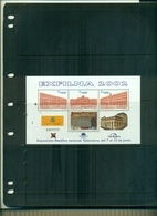 ESPAGNE EXFILNA 2002 1 BF NEUF A PARTIR DE 0.75 EUROS - Blocs & Feuillets
