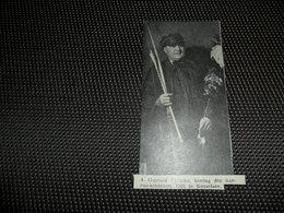 """Origineel Knipsel ( 2776 ) Uit Tijdschrift """" Ons Volk """" 1935 : G. Plancke  Roeselare Roulers   Boogschieten Tir à L' Arc - Oude Documenten"""