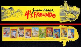 Marque-page Signet : Allemand - Kalle & Co - 4 1/2 FREUNDE - Joachim Friedrich - Marque-Pages