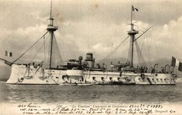 LE VAUBAN - CUIRASSÉ DE CROISIERE - Warships