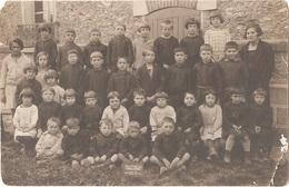 Dépt 91 - AUTHON-LA-PLAINE - Carte-photo ÉCOLE, CLASSE De GARÇONS - Année 1929 - Autres Communes