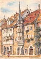 MULHOUSE - Maison Mieg - Place De La Réunion - Illustrateur G.A. Dumarais - Editions Barré Dayez N'BD 2301 B - Mulhouse