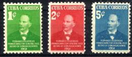 Cuba Nº 338/40 En Nuevo - Cuba